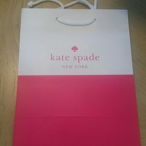 Lot of 8 Kate Spade authentic gift bags